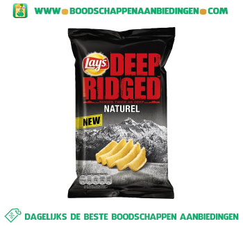 Lay's Deep ridged naturel aanbieding