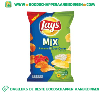 Lay's Mix paprika & sour cream aanbieding