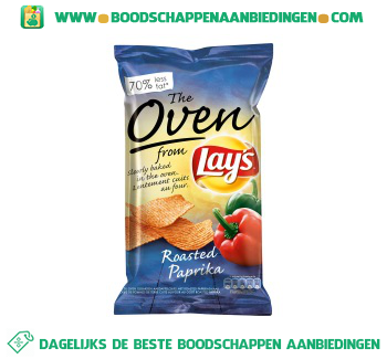 Lay's Oven roasted paprika aanbieding