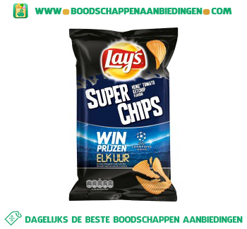 Lay's Superchips Heinz tomaten ketchup aanbieding