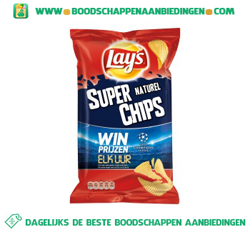 Lay's Superchips naturel aanbieding