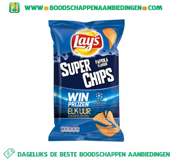 Lay's Superchips paprika aanbieding