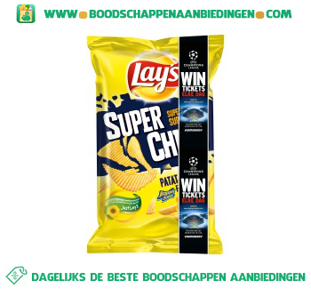 Lay's Superchips patatje joppie aanbieding