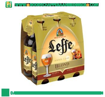Leffe Blond pak 6 flesjes aanbieding