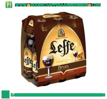 Leffe Bruin pak 6 flesjes aanbieding