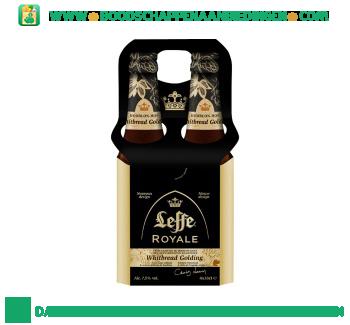 Leffe Royale whitbread golding pak 4 flesjes aanbieding