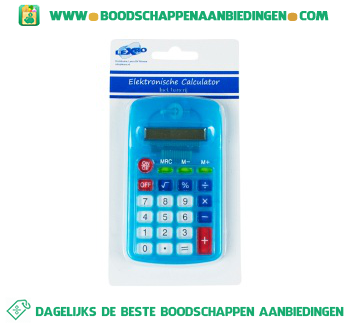 Lexro Calculator electronisch aanbieding