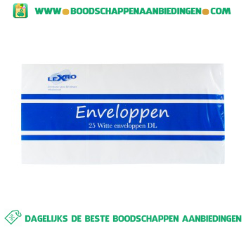 Lexro Enveloppen 110×220 mm aanbieding