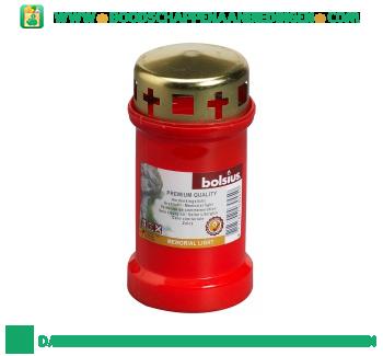 Lexro Graflicht nr. 3 met deksel rood aanbieding