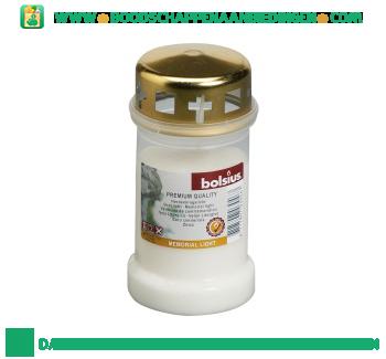Lexro Graflicht nr. 3 met deksel wit aanbieding