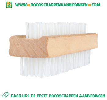 Lexro Nagelborstel hout aanbieding