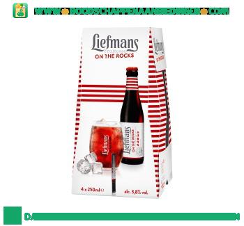 Liefmans Fruitesse pak 4 flesjes aanbieding