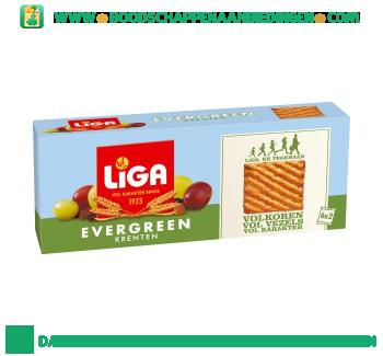 Liga Evergreen krenten aanbieding