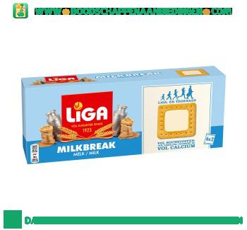 Liga Milkbreak melk aanbieding