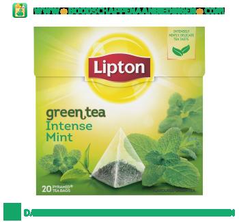 Lipton Groene thee intense mint aanbieding