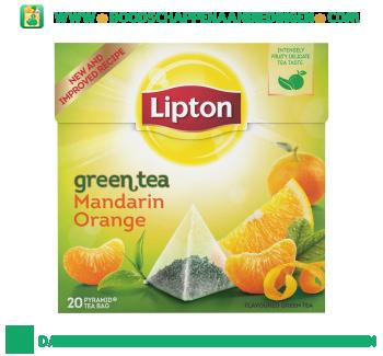 Lipton Groene thee mandarin orange aanbieding
