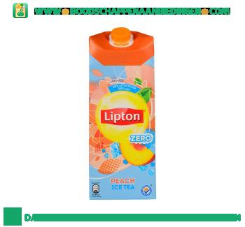 Lipton Ice tea zero peach aanbieding