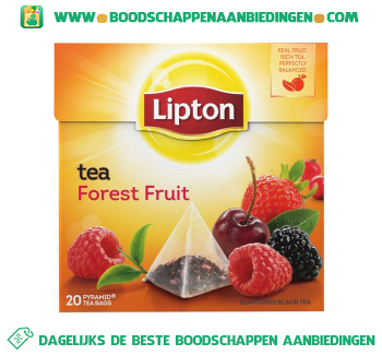Lipton Thee forest fruit aanbieding