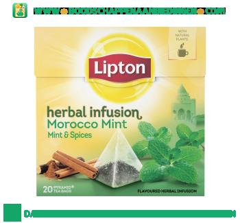 Lipton Thee morocco mint aanbieding