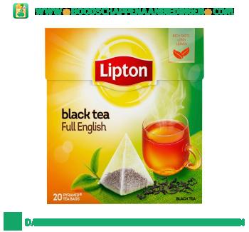 Lipton Zwarte thee full english aanbieding