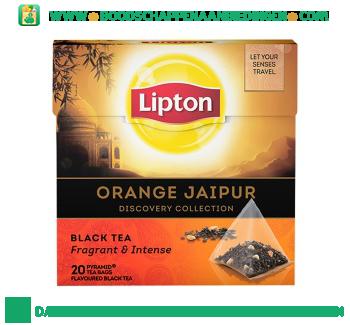 Lipton Zwarte thee orange jaipur aanbieding