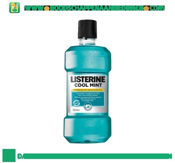 Listerine Mondwater cool mint aanbieding