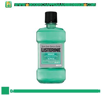 Listerine Mondwater tand & tandvleesbescherming aanbieding