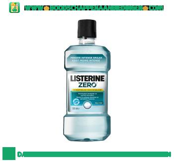 Listerine Mondwater zero mild mint aanbieding