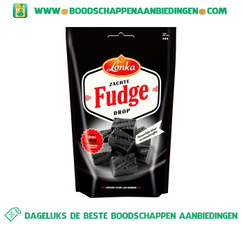 Soft fudge drop salmiak aanbieding