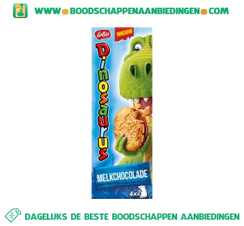 Lotus Dinosaurus melkchocolade aanbieding
