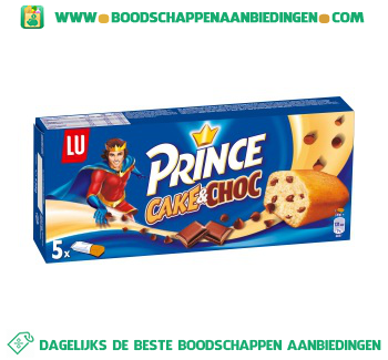 Lu Prince cake & choc aanbieding
