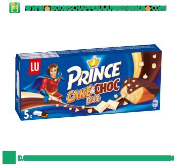 Lu Prince cake & choc duo aanbieding