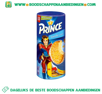 Lu Prince vanille aanbieding