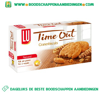 Lu Time out biscuit naturel aanbieding