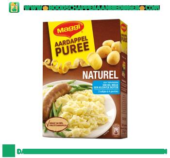 Maggi Aardappelpuree naturel + melk aanbieding