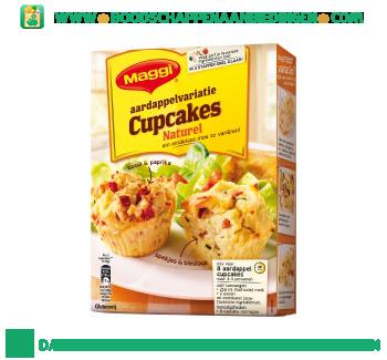 Aardappelvariatie cupcakes naturel aanbieding