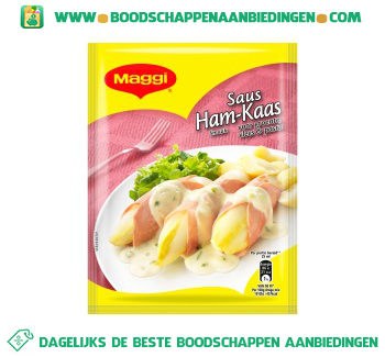 Maggi Ham kaassaus aanbieding