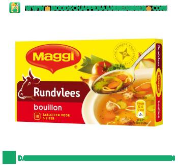 Maggi Rundvlees bouillon aanbieding