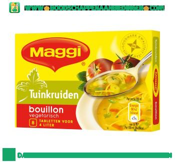 Maggi Tuinkruiden bouillon aanbieding