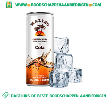 Malibu Cola aanbieding