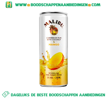 Malibu Mango aanbieding