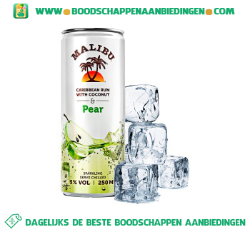 Malibu Pear aanbieding