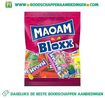 Maoam Bloxx aanbieding