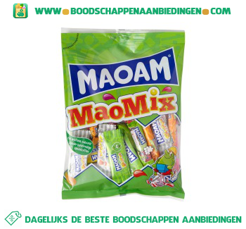 Maoam MaoMix uitdeelzak aanbieding