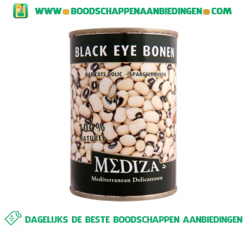 Mediza Black eye bonen aanbieding