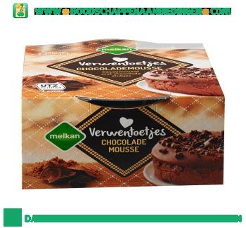 Melkan Chocolade mousse aanbieding