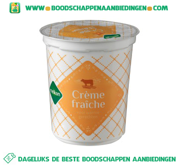 Melkan Crème fraîche aanbieding