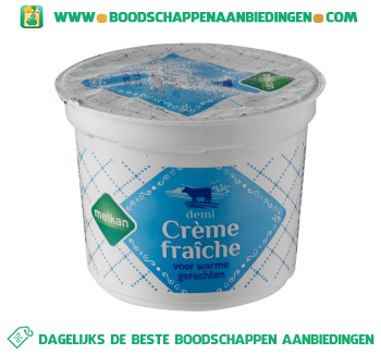 Melkan Demi crème fraîche aanbieding
