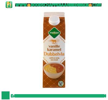 Melkan Dubbelvla vanille karamel aanbieding