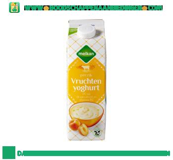 Melkan Magere yoghurt perzik aanbieding